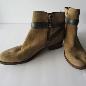 Womens Boho Tommy Hilfiger Suede Boots Size 9.5M